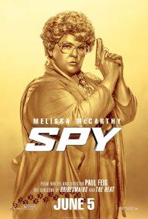 Spy golden poster