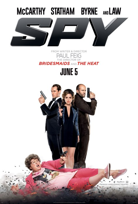 Spy movie official poster