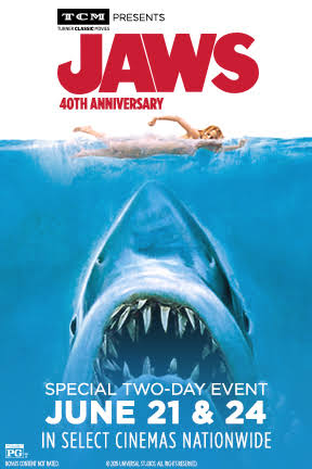 Jaws 40th anniversary poster