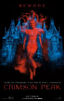 Crimson Peak movie poster