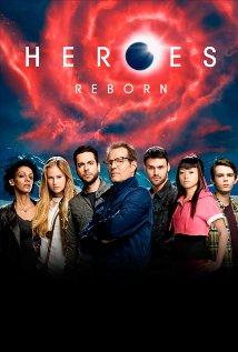 Heroes Reborn tv show poster