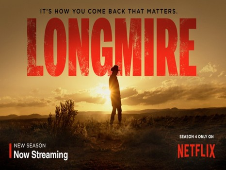 Longmire on Netflix promo picture