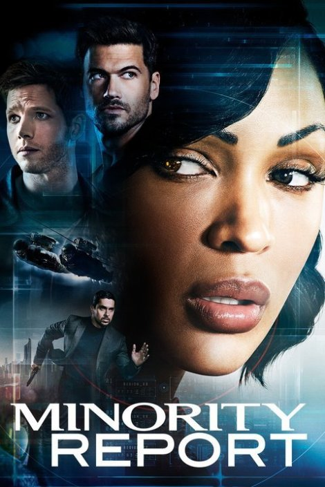 Minority Report TV promo image