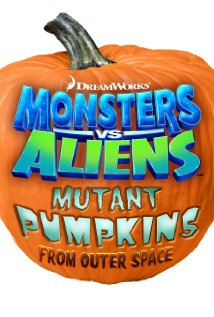 Monsters vs Aliens: Mutant Pumpkins from Outer Space logo