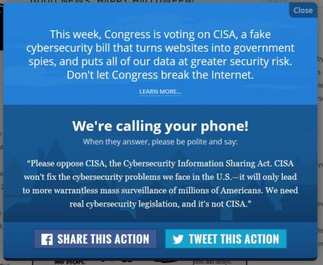 Stop CISA action picture