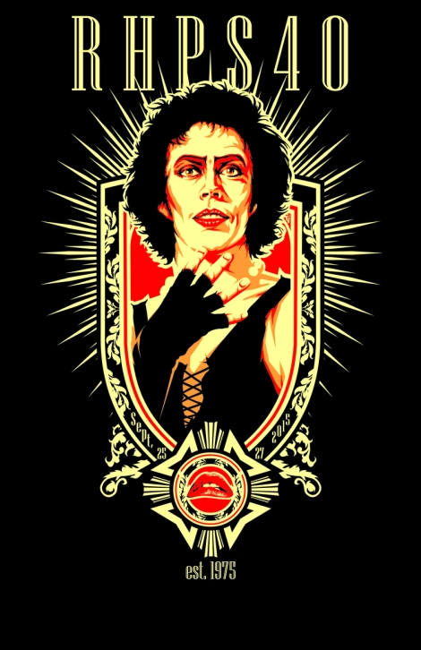 The 40th Anniversary Rocky Horror t-shirt