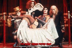"Scene from The Rocky Horror Picture Show - ""Sweet Transvestite"""
