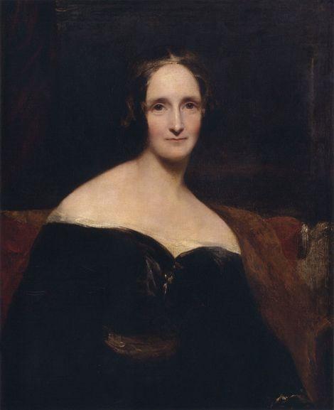 Portrait of Mary Wollstonecraft Shelley