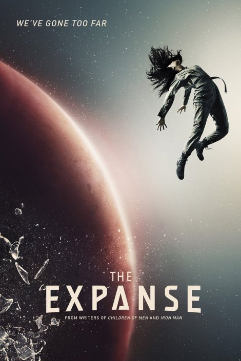 Poster for The Expanse on Syfy