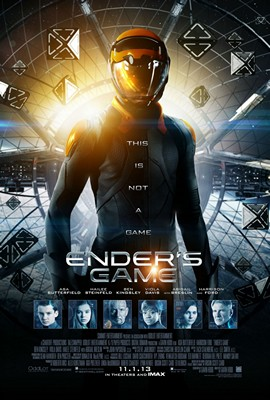 Ender's Game movie poster