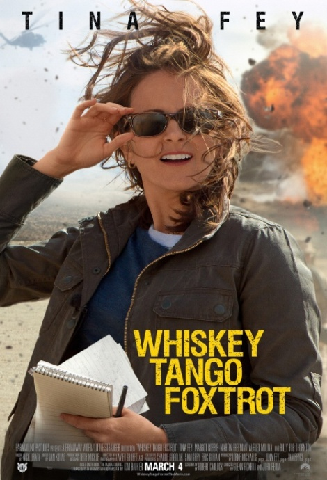 Whiskey Tango Foxtrot movie poster