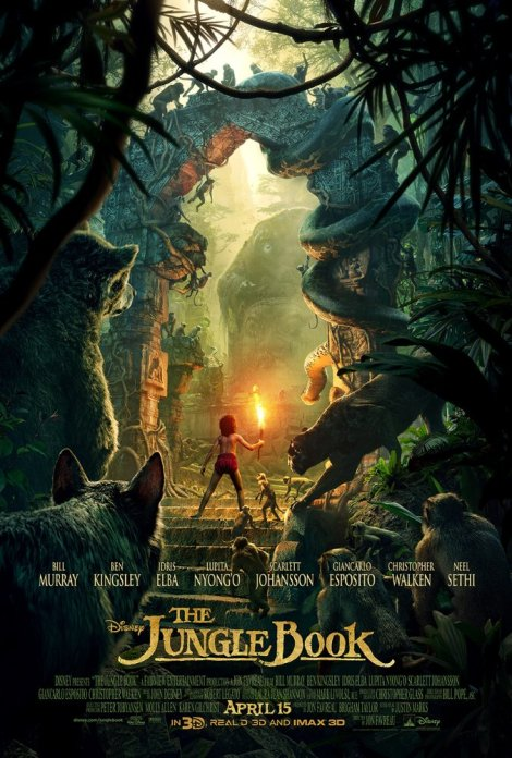 The Jungle Book 2016 movie poster