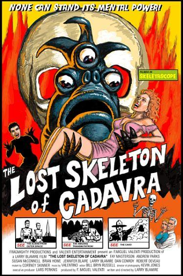 The Lost Skeleton of Cadavra movie poster