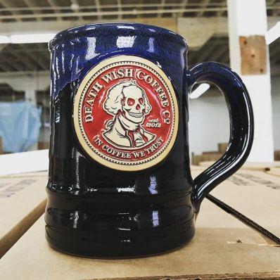 Death Wish patriotic mug, 2016