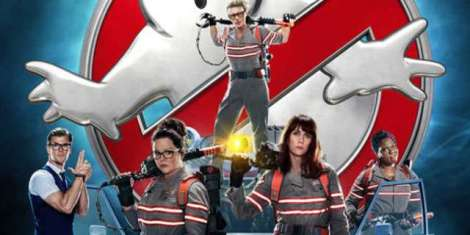 Ghostbusters 2016 - long picture of Busters