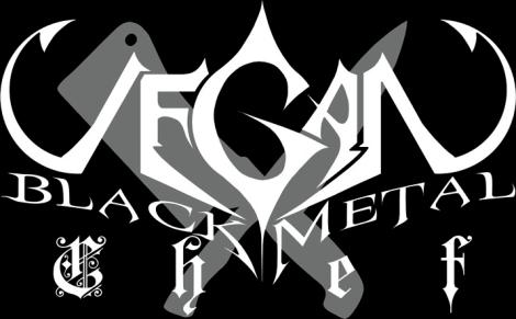 Vegan Black Metal Chef logo