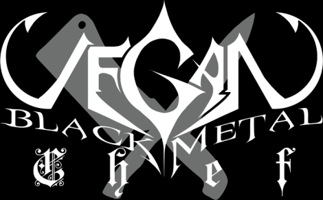 Vegan Black Metal Chef logo