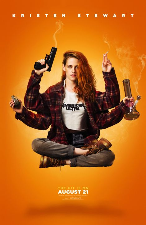 American Ultra Kirsten Stewart movie poster