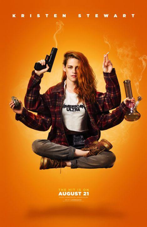 American Ultra Kirsten Stewart movie poster