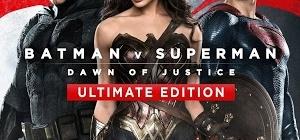 Battman v Superman Ultimate Edition DVD/Blu-Ray cover