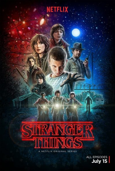 Stranger Things Netflix series poster