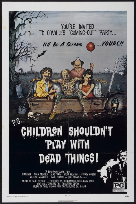 Children Shouldn't Play With Dead Things movie poster