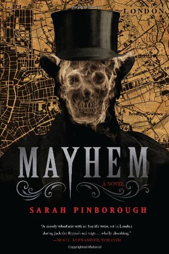 Mayhem by Sarah Pinborough book cover