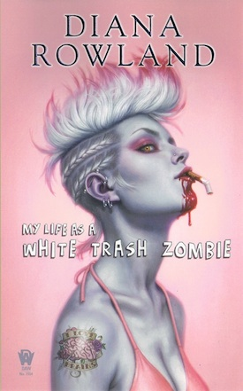 My Life as a White Trash Zombie book cover