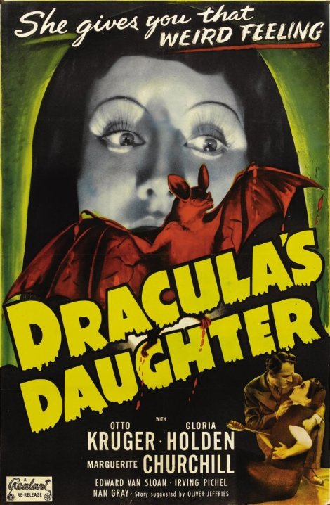 Dracula's Daughter movie poster