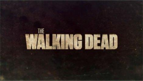 The Walking Dead title card from season 1