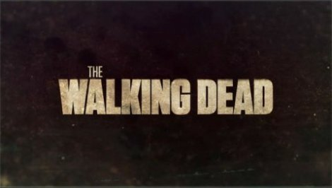 The Walking Dead title card from season 1