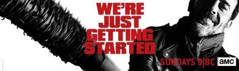 The Walking Dead Facebook cover on November 2016