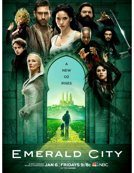 Emerald City poster
