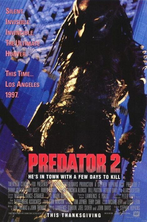 Predator 2 - movie poster