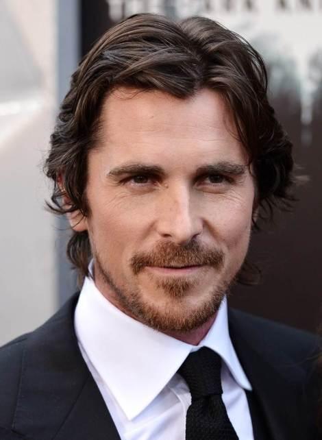 Portrait of actor Christian Bale