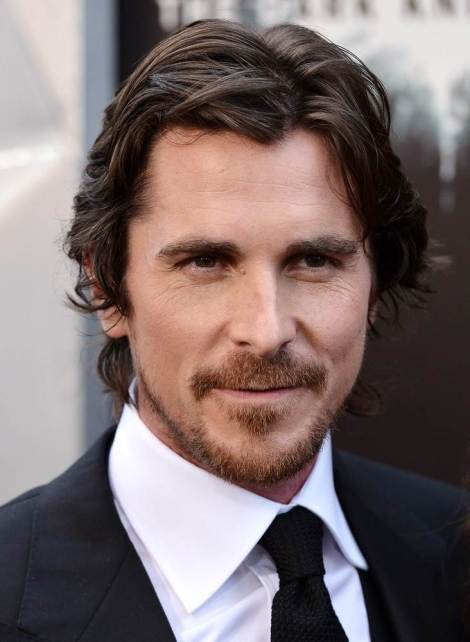 Portrait of actor Christian Bale