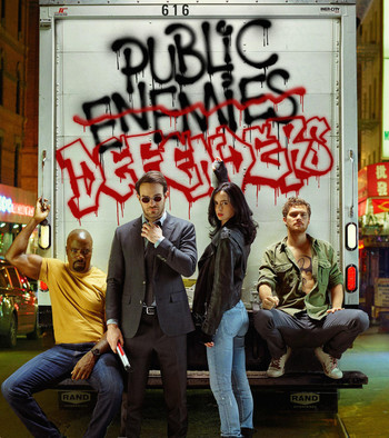 The Defenders cast photo