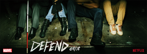 Feet of the Defender - Netflix marketing image