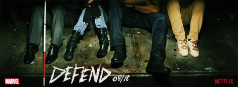 Feet of the Defender - Netflix marketing image