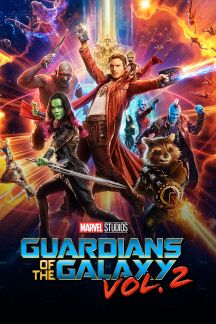 Guardians of the Galaxy Vol. 2 movie poster in color