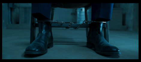 Shackled feet from Black Panther teaser trailer
