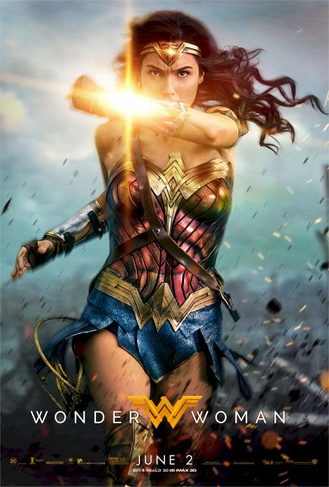 Wonder Woman final movie poster