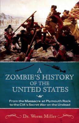 A Zombie's History of the United States book cover
