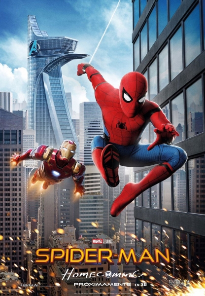 Spider-Man: Homecoming movie poster