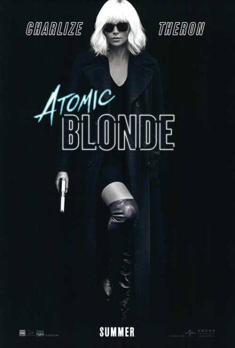 Atomic Blonde official movie poster