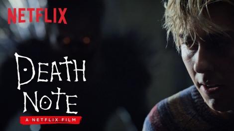 Death Note Netflix movie advertisement