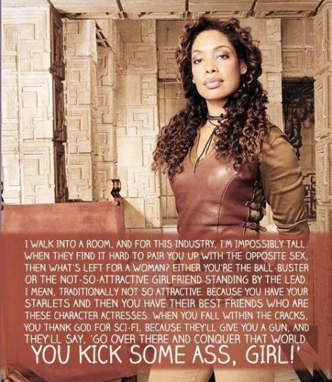 Gina Torres Rules!