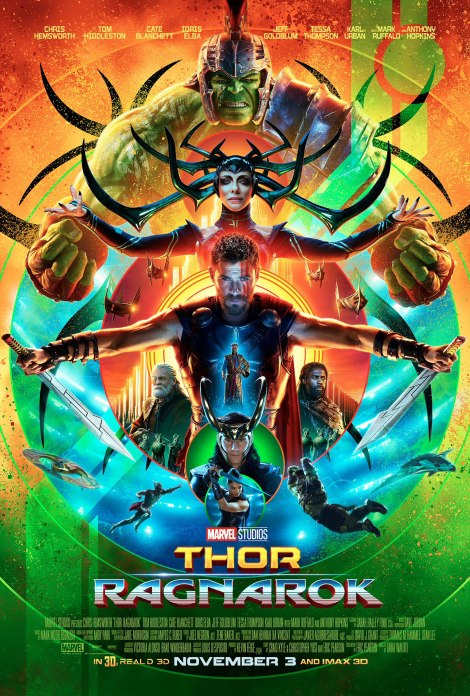 Thor: Ragnarok official movie poster