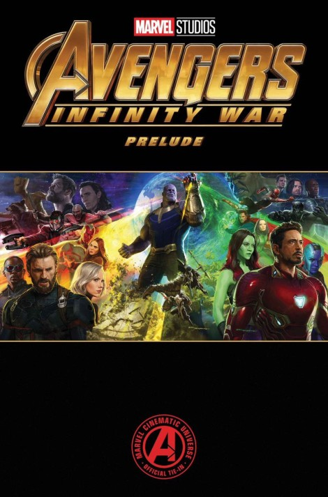 Avengers: Infinity War official comic prelude