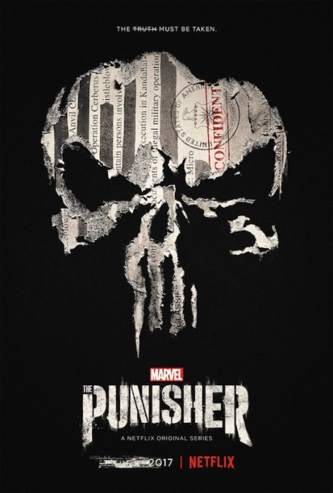 The Punisher Netflix show poster
